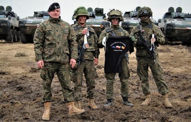 Żołnierze polskiego kontyngentu zajęli cztery medalowe miejsca podczas Mistrzostw Europy w Bukareszcie.