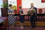 Podziękowanie za 35 lat pracy w tomaszowskim magistracie