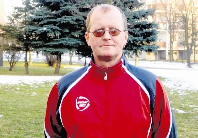 Bolesław Olejniczak menadżer piłkarski drużyny Sokół Szamocin