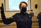Nowi policjanci ślubowali w Opolu na sztandar. Zobacz zdjęcia z uroczystości w komendzie wojewódzkiej