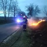 Strażacy z Radomska i powiatu gasili kolejne pożary suchych traw i nieużytków