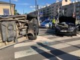 Praga Południe. Wypadek na skrzyżowaniu Terespolskiej i Grochowskiej. Są utrudnienia w ruchu