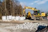 Wałbrzych: Prace przy budowie wjazdu do zamku Książ na finiszu (ZDJĘCIA)