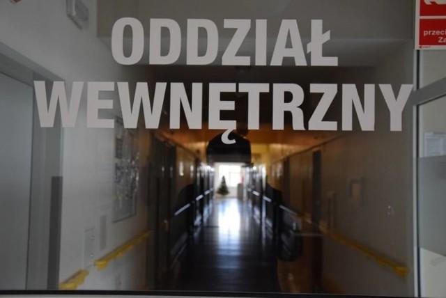 Interna szpitala w Oleśnie zostaje zamknięta.