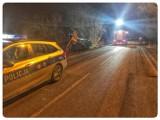 Nietrzeźwi kierowcy na drogach powiatu gdańskiego. Ciężarówką wjechał do rowu. Miał 1,5 promila alkoholu