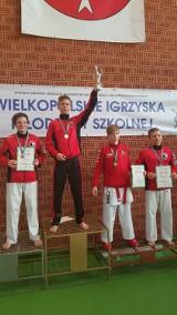 15 medali pleszewskich karateków na Mistrzostwach Szkół Województwa Wielkopolskiego w Karate Olimpijkim WKF