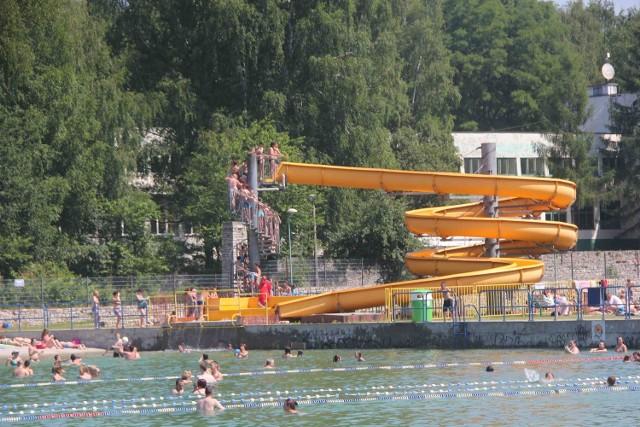 Kąpielisko Leśne w Gliwicach.