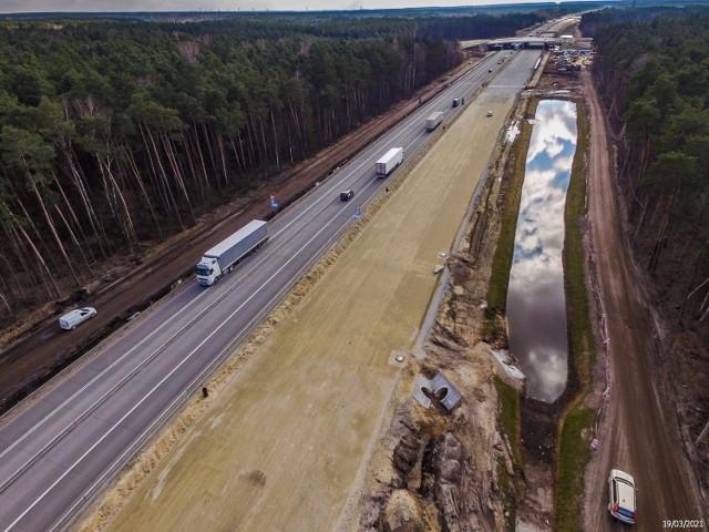 Budowa autostrady A1 w województwie łódzkim