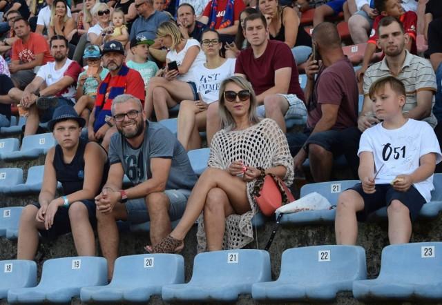 Kibice na meczu Odra Opole - Miedź Legnica (1-4)