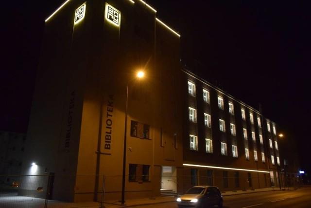 Siedziba nowej biblioteki w Żorach mieści się w budynku dawnego młyna elektrycznego przy ulicy Rybnickiej