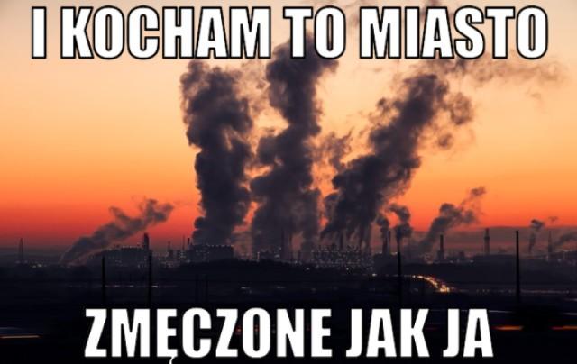 Smog ponownie zaatakował Warszawę. Internauci śmieją się przez łzy [MEMY]