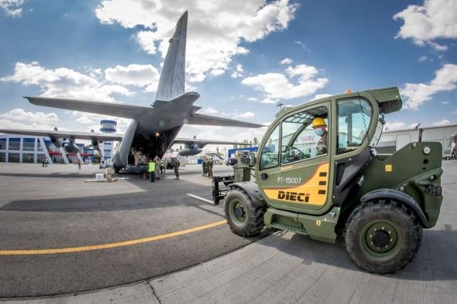 Logistycy z Opola przygotowali transport dla polskiego kontyngentu w Rumunii.