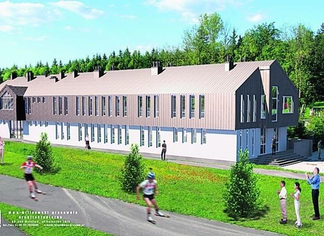 Rozbudowany będzie budynek z zapleczem dla sportowców