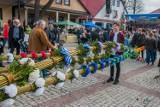 Niedziela palmowa w Lipnicy Murowanej. Co roku odbywa się tu konkurs największych palm wielkanocnych. Ale nie w tym. Zobaczcie zdjęcia 2019