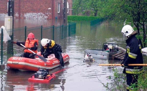 Podczas tegorocznych powodzi strażacy nie zawiedli