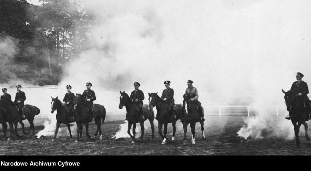 Policja konna w czasach dwudziestolecia międzywojennego