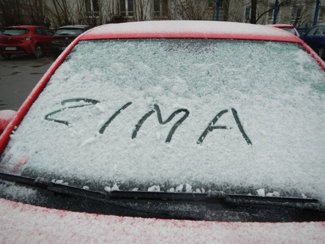 Taki napis będzie jeszcze można wykonać w Kujawsko-Pomorskiem we czwartek lub piątek