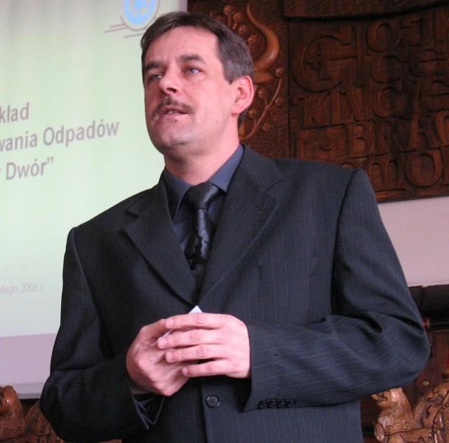 Arseniusz Finster, burmistrz Chojnic