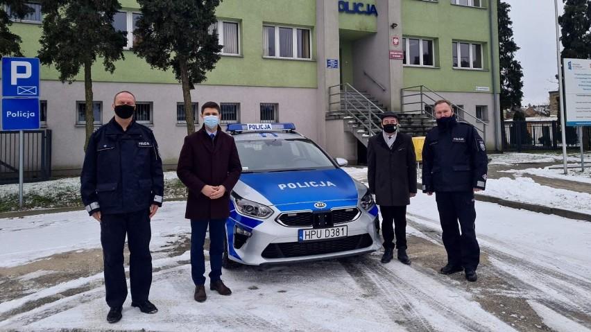 Nowy radiowóz dla policji z Witkowa i Niechanowa!