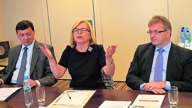 Gabriela Lenartowicz, prezes WFOŚiGW, podczas rozmowy o roli węgla w energetyce zwróciła także uwagę na aspekt społeczny