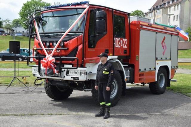 Z Miastka do Biebrzańskiego Parku Narodowego wyjechał ten wóz bojowy. Strażacy otrzymali go w maju ubiegłego roku