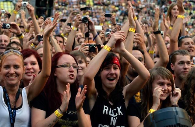 Zdjęcia z koncertu z 2013 roku na PGE Arena w Gdańsku