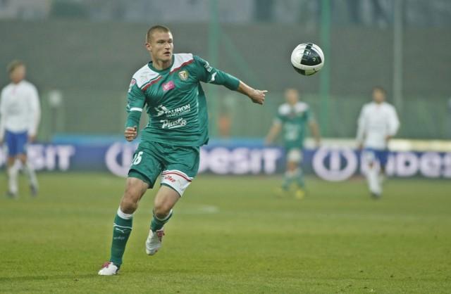 Przemysław Kaźmierczak grał w Pogoni przez trzy sezony.