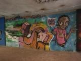 Graffiti w Poznaniu: Nowe obrazy w przejściu podziemnym na Botanicznej