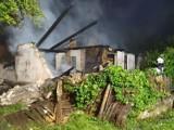 Groźny pożar w Sulikowie koło Barwic. Dom stanął w ogniu [zdjęcia]