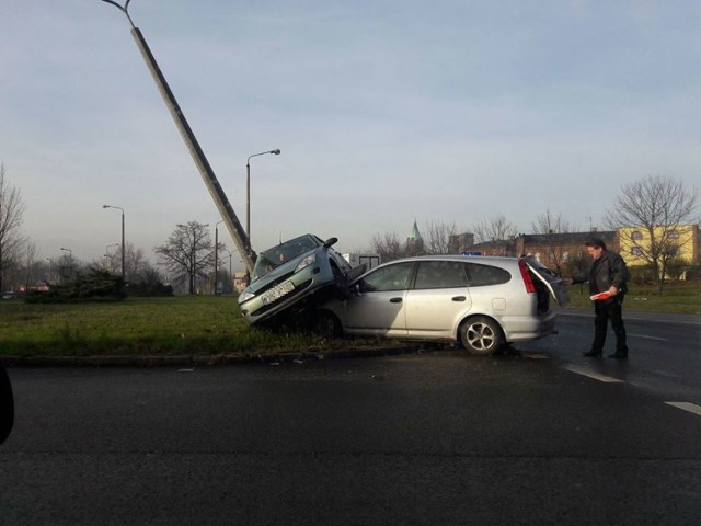 Wypadek w Czeladzi na DK94