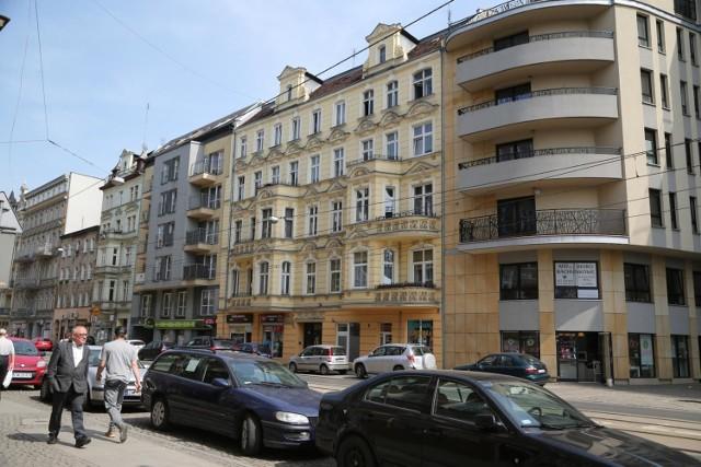 Ulica Jedności Narodowej we Wrocławiu.