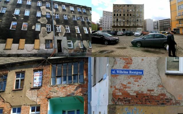 Wieloletnie zaniedbania władz miasta, właścicieli i zarządców sprawiły, że zrujnowane kamienice wrosły już w miejski krajobraz Wrocławia. Wybraliśmy budynki, które mają najbrzydsze elewacje. Straszą i szpecą nasze miasto.  Zobaczcie nasz ranking - na kolejne slajdy możecie przechodzić, używając strzałek lub gestów.