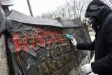 Dewastacja Pomnika Jana Pawła II w Szczecinie. Sprawą zajęła się już policja. ZDJĘCIA