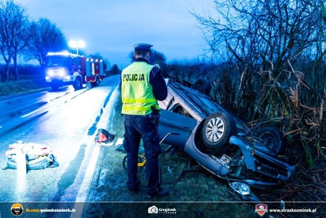 Wypadek w Pietrzykowie pod Kaliszem