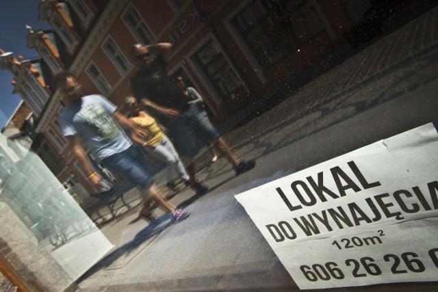 Lokale użytkowe na ulice Długiej to w znacznej mierze własność prywatna.