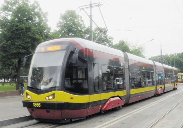 PES-y to jedyne w Łodzi tramwaje z klimatyzacją.