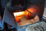 11 worków narkotyków spłonęło w policyjnym piecu