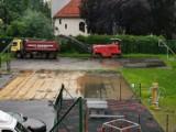 Rozpoczęły się prace przy budowie boiska SP 1 w Bystrzycy Kłodzkiej