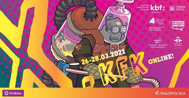 Dziesiąta edycja Krakowskiego Festiwalu Komiksu odbędzie się od 26 do 28 marca