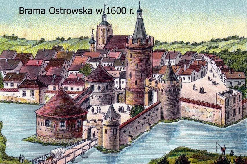 Baszta Ostrowska została wybudowana ok. 1530 roku. Oto jeden...