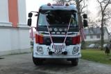 Nowy wóz bojowy dla OSP Tyszowce. Zobacz zdjęcia