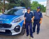 Policjanci eskortowali do szpitala w Opolu samochód z ciężko rannym mężczyzną