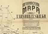 Zobacz stare mapy Tarnobrzega - sprzed stu lat. Niezwykłe, misternie wykonane