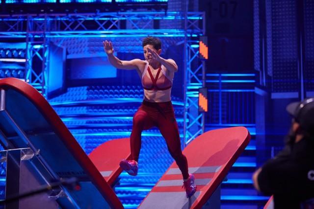 Marta Staroń z torem w programie Ninja Warrior zmagała się dwukrotnie.