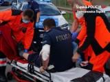 Ranny policjant, staranowane pojazdy, strzały ostrzegawcze: pościg za 29-latkiem w Siemianowicach Śląskich