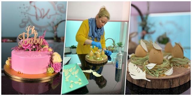 Nataliya Golombyovska tworzy torty i inne słodkości, które wyglądem przypominają małe dzieła sztuki