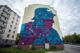 Nowy mural na Woli. Nawiązuje do Powstania Warszawskiego [ZDJĘCIA]