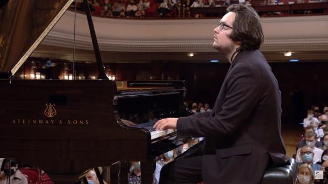 Jakub Kuszlik w pierwszym etapie XVIII Międzynarodowego Pianistycznego Konkursu im. Fryderyka Chopina, 7.10.2021