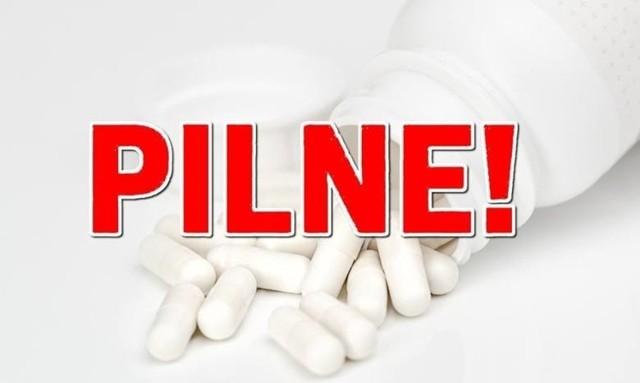 Sprawdźcie, jakie leki figurują na liście leków wycofanych z aptek przez Głównego Inspektora Farmaceutycznego >>>