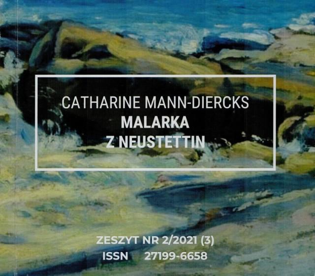 Okładka książki o Catharine Mann-Diercks
